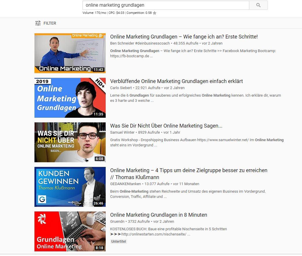 online marketing grundlagen   Die WP-Meister