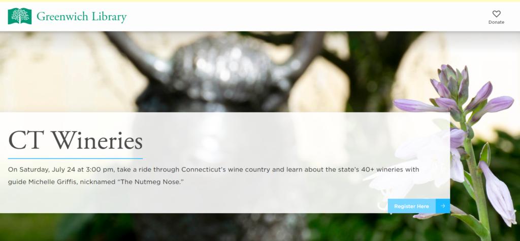 Greenwich Library WordPress Seite