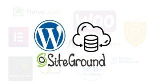 Wordpress hosting mit siteground