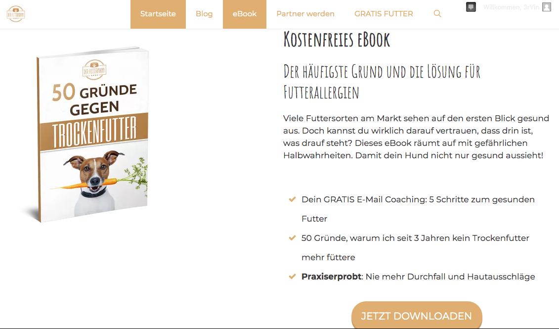 Der Futtermann - eBook downloaden