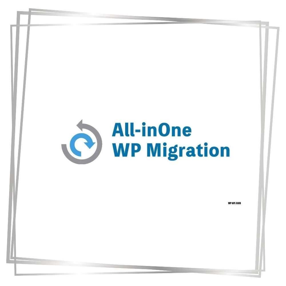 all in one migration plugin | Die WP-Meister