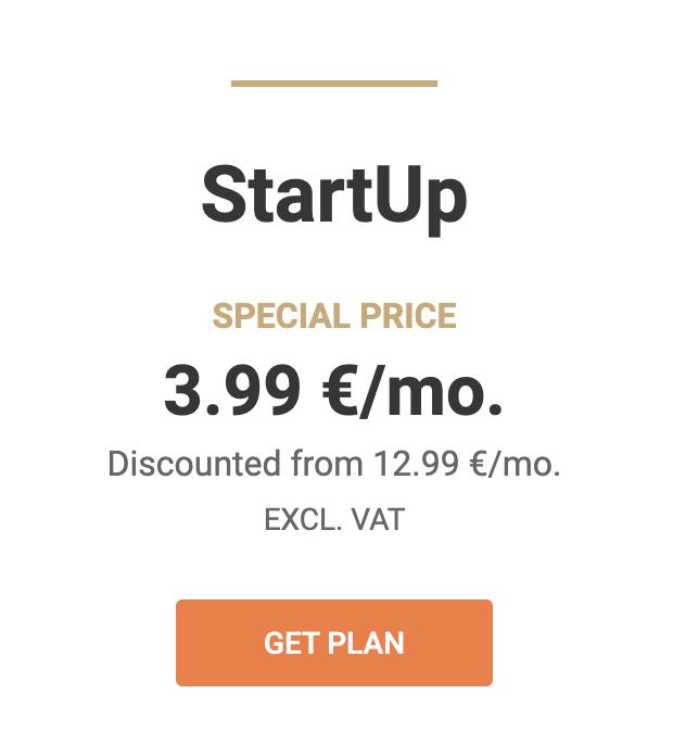 Siteground Aktion StartUp